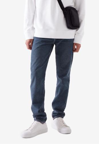 COS blue Regular-Fit Jeans 197BAAAB1877B1GS_1