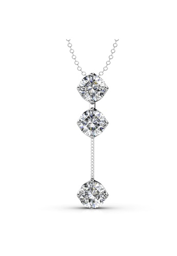 Her Jewellery silver Her Jewellery Dazzling Pendant with Premium Grade Crystals from Austria 505D0ACB09E979GS_1