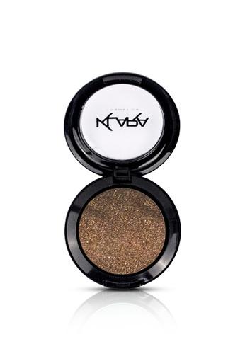 KLARA COSMETICS brown Diamond Eyeshadow #5 - Glittery Cocoa F9417BE45A02C6GS_1