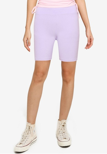Hollister purple Bike Shorts B8290AA872046BGS_1