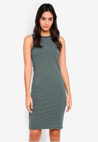 Cotton On green Lena Midi Dress C8D0EAAFB9E0CFGS_1