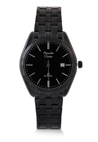 Alexandre Christie black Alexandre Christie Jam Tangan Wanita - Black - Stainless Steel - 8558 LDBIPBA E34B4AC23D5768GS_1