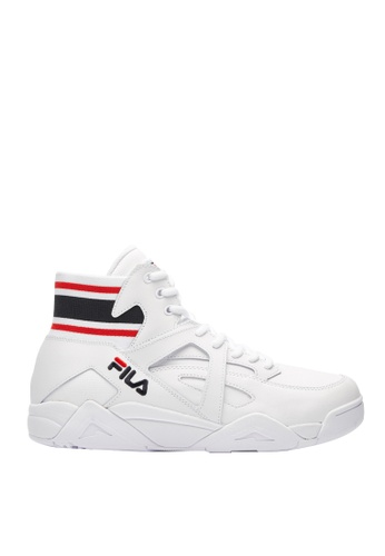 FILA white FILA CAGE NS Sports Shoes 9FA82SHDD3CDC1GS_1