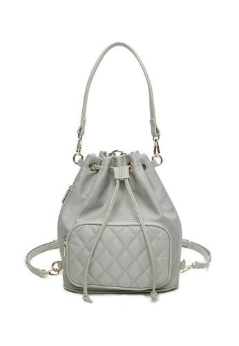 Milliot & Co. green Wendy Top Handle Bag 92C4FACDE35AA8GS_1