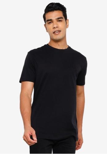 Springfield black Basic Logo T-Shirt FC337AA81F1AD0GS_1