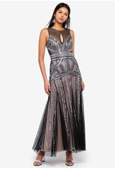 34% OFF Miss Selfridge Petite Black Maxi Dress HK  1 d0638c0c7