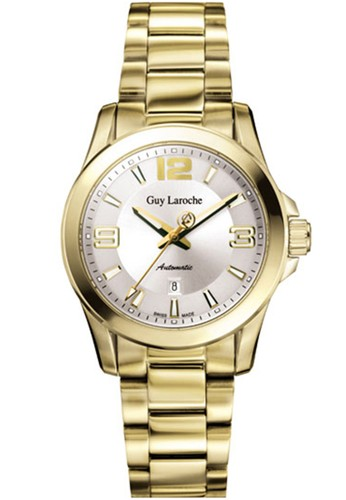 Guy Laroche Watches gold guy laroche swiss made - GLM 6078-05 - jam tangan wanita - stainlles steel - gold EFB66ACFA0DFA0GS_1