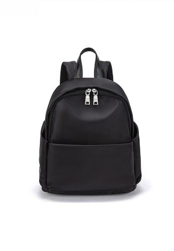 Twenty Eight Shoes black Multi Purpose Fashionable Nylon Oxford Backpack JW CL-C5235 57412AC78C0967GS_1