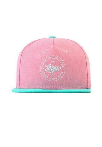 M-Wanted pink M. Flipper 1977 X Premier Snapback Cap MW173AC20XPJSG_1