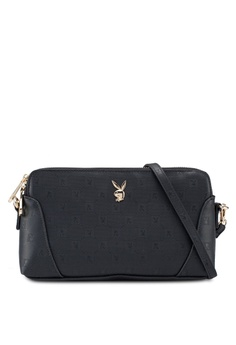 b440a8c6944e Playboy Bunny black Playboy Bunny Sling Bag 40856ACA0862CFGS 1