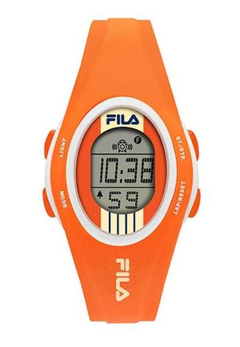 FILA Watches orange Fila Digital Orange Silicone Watch 2371AACA3D721FGS_1