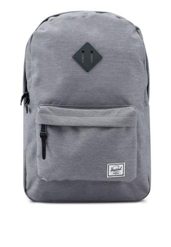 Herschel grey Heritage Backpack D10F6AC462013BGS_1