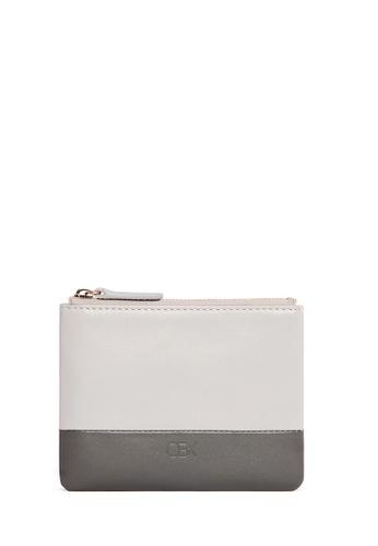 OBX multi Dark Grey/Gull Grey Leather Coin Pouch 99856AC95C2F46GS_1