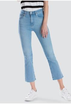 fbb619df Levi's blue Levi's Mile High Crop Flare Jeans Women 72939-0003  F9B38AAF6F8850GS_1