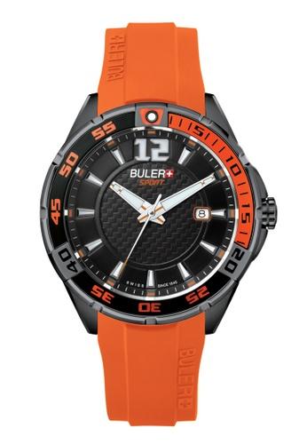 Buler black Buler Sport Watch - Black - Gents - Date - 3H BU689AC2VG0XHK_1
