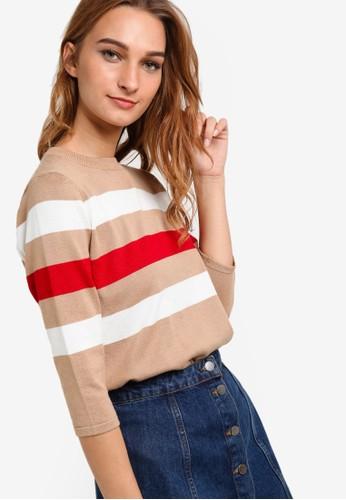 三色條紋長袖衫, 服飾, esprit女裝女性服飾