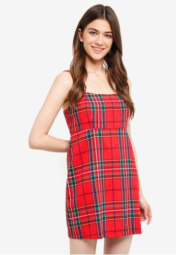 Factorie red Slip Dress AA738AAB10CB2EGS_1