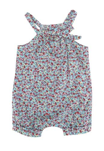 DU PAREIL AU MÊME (DPAM) multi Floral Printed Jumpsuit 5A673KA383E589GS_1