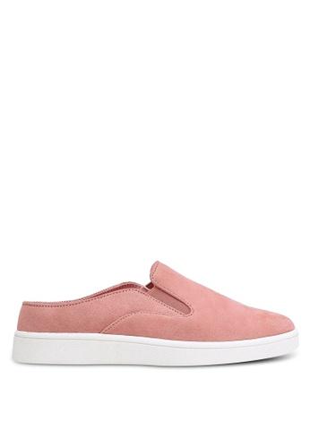 ZALORA pink Slip-On Sneakers A8C4ESH4842BB2GS_1
