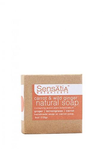 Sensatia Botanicals n/a Sensatia Botanicals Carrot & Wild Ginger Natural Soap - 25 gr 1F20DBE14803A8GS_1