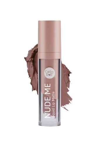 Cathy Doll brown Cathy Doll Nude Me Liquid Lip Matte 4gr #02 Nude Brown 60AF6BE623A131GS_1