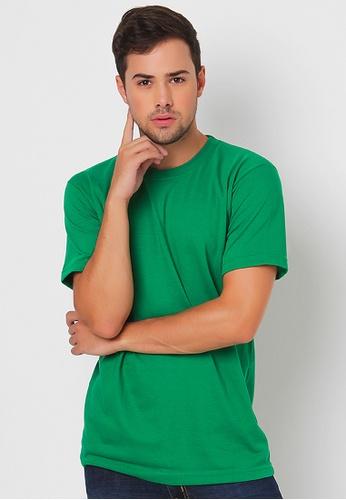 Guitar green Regular Round-Neck Shirt GU661AA88VOXPH_1