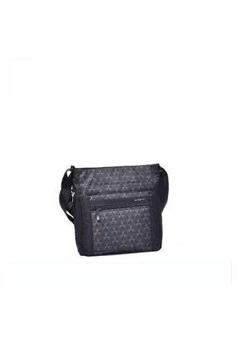 Hedgren black Hedgren Women Orva Crossover RFID Bag Gradient Print - 5.2L D1407AC2BE2523GS_1