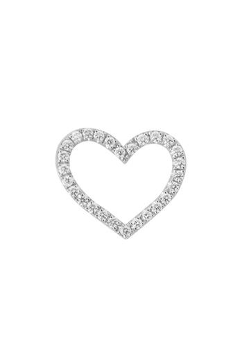 GOLDHEART gold GOLDHEART Pendant Set, Diamond White Gold 585 (P3158) 2C93CAC2942FBDGS_1