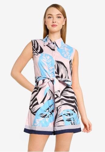 351b2b203077 Shop Megane Best Frenz Nizhoni Floral Print Romper Online on ZALORA ...