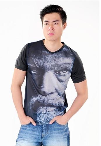 SJO & SIMPAPLY black SPP New Guild Face Black Men's Shirt 5C0CEAA4D6053EGS_1