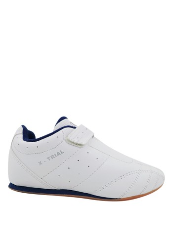 FANS white Fans Xtrial W - Taekwondo Shoes White Navy A90BFSH5C2ED41GS_1