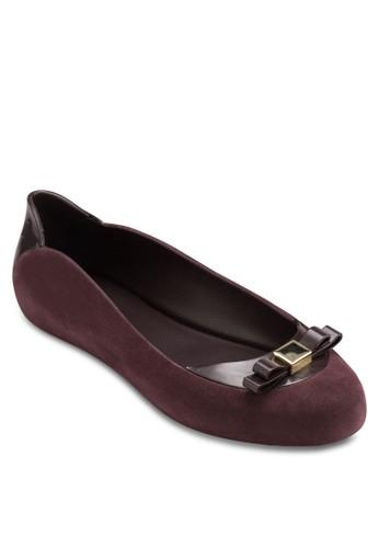 Pump It esprit outlet 香港麂皮平底鞋, 女鞋, 鞋