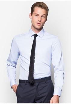 Fine Stripe Long Sleeve Shirt