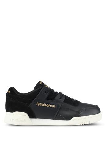 Reebok black and grey Workout Plus ALR Shoes RE691SH0SX27MY_1