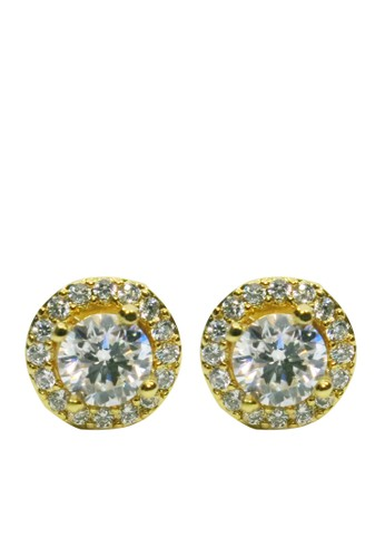 BALLIN gold Anting Wanita Haesel Earing Gold 1A182AC99A1CACGS_1