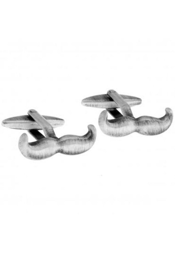The Little Link Cufflinks silver Grandpa Moustache cufflinks TH089AC0G4Y1SG_1