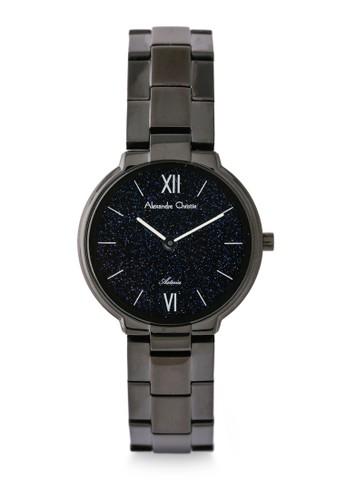Alexandre Christie black Alexandre Christie Jam Tangan Wanita - Black Blue - Stainless Steel - 8480 LHBIPBU CBD88ACF9686D2GS_1