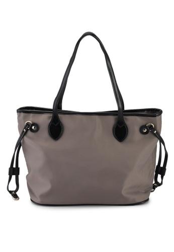 NUVEAU brown Oxford Nylon Neverfull Tote Bag 8666EAC39C3E30GS_1