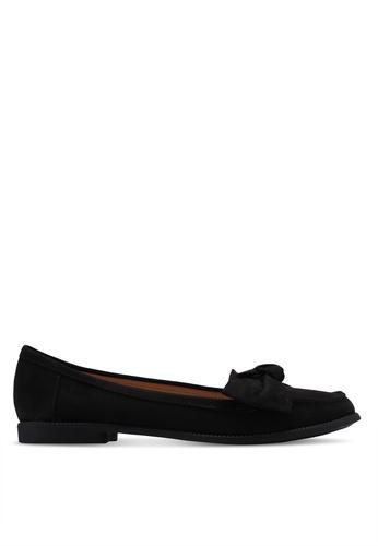 Dorothy Perkins 黑色 蝴蝶結樂福鞋 A72AESHA7F0F82GS_1