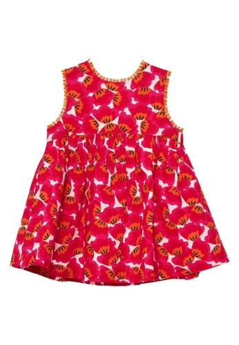 Du Pareil Au Même (DPAM) pink Overlap Dress 2BD22KA311B1D9GS_1
