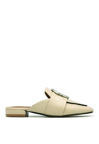 Carlo Rino beige Carlo Rino 33380-A002-31 Slip On Mule (Beige) BC45ASH8C6766AGS_1
