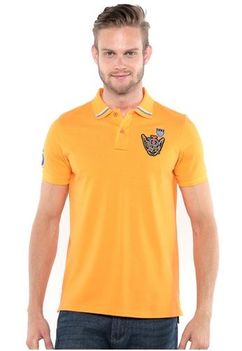 POLO HAUS orange Polo Haus - Polo Tee (Orange) PO783AA32ZQLMY_1
