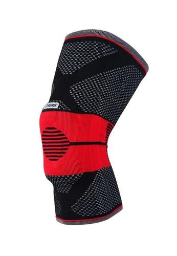 RIGORER black Rigorer Gel-Padded Knee Brace w/ Steel Stays [KB001] 6D24EAC7ABD54CGS_1