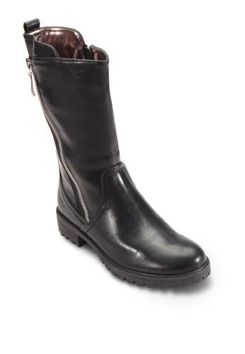 雙側拉鍊短靴, 女esprit 香港 outlet鞋, 鞋