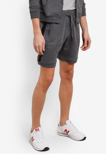 Marc & Giselle grey Jogger Short Pants MA188AA0RTK8MY_1