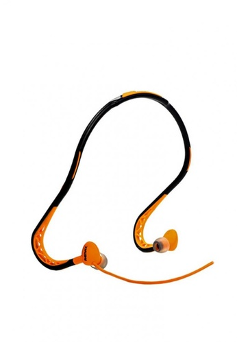 Stylebox orange Remax RM-S15 Wired Neckband Sporty Earphone 1F77CAC3A18D2DGS_1