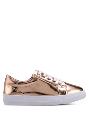 Carlton London gold Metallic Sneakers 264BESHC3221A1GS_1