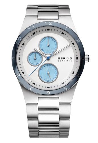 Bering silver Ceramic 32339-707 White 39 mm Men's Watch A8AC8ACF6F716BGS_1
