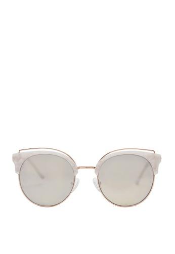 Carin white Deborah C2 Sunglasses CE5A6GL4B7FD65GS_1