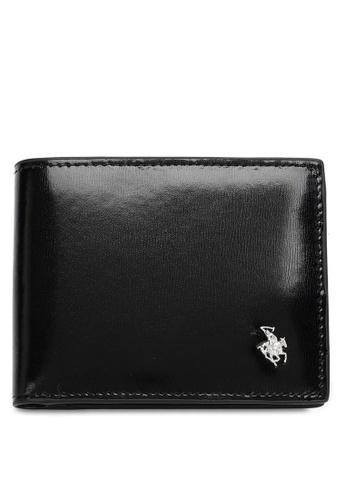 Swiss Polo black Casual Short Wallet D1747AC881C3B2GS_1